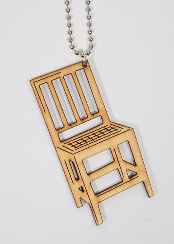 Aleksiina Sit Down Pendant Birch Plywood