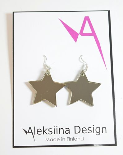 Aleksiina Star The Star Earrings Bronzemirror