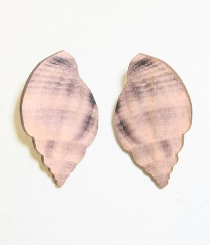 Mori Collective Sea Shell Nappikorvakorut Lilac