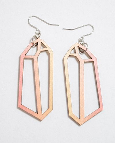 Mori Collective Crystal Korvakorut Rose Topaz