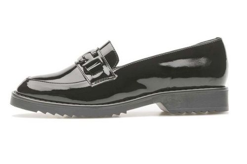 Palmroth Loafer Black Patent 85050