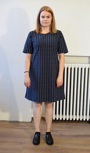 Aleksiina Sailor Dress S M L