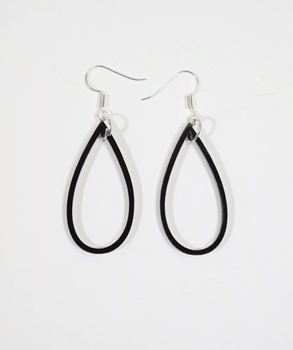 Aleksiina Aqua One Earrings Black