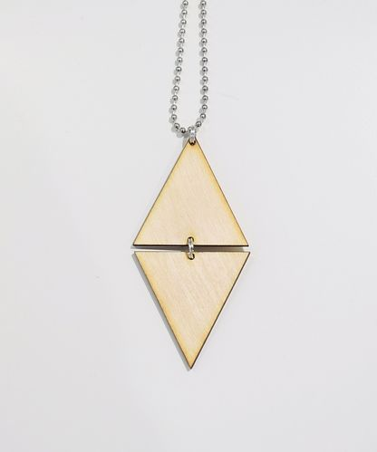 Aleksiina Sharp Pendant Wood