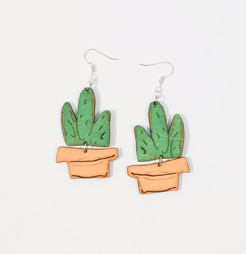 Aleksiina Cactus Anni Earrings