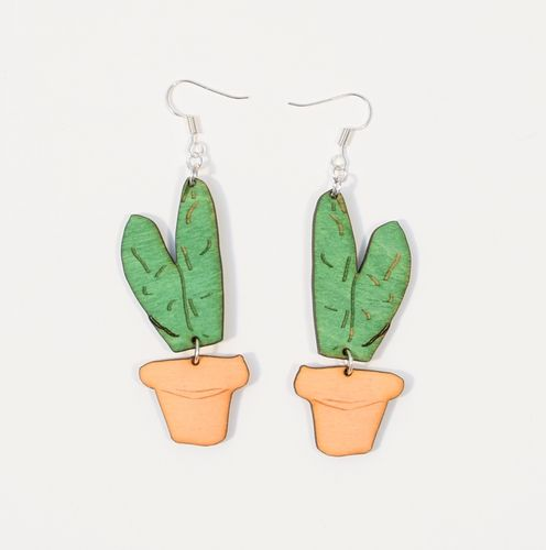 Aleksiina Cactus Kerttu Earrings