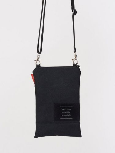 Riiminka Tarina Shoulder Bag with mobile phone pocket black
