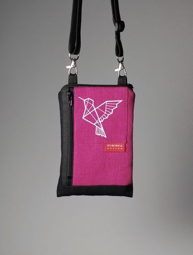 Riiminka Little Sini Shoulder Bag for the mobile phone pink