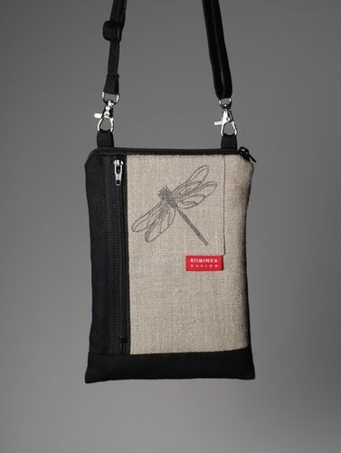 Riiminka Big Sini Shoulder Bag for the mobile phone Linen
