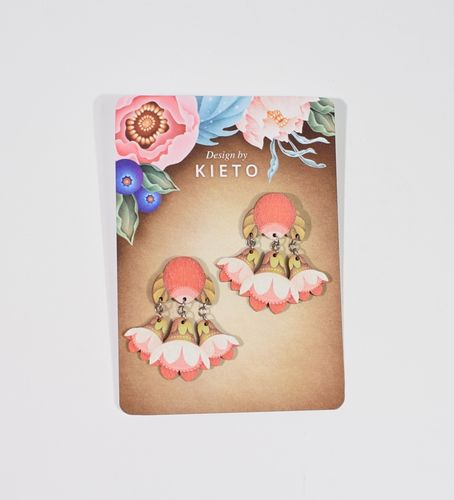 Kieto Nuppu Stud Earrings