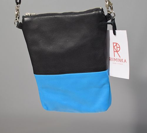 Riiminka Reindeer Leather Bag Turquoise