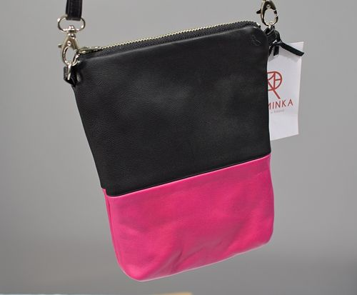 Riiminka Reindeer Leather Bag Pink