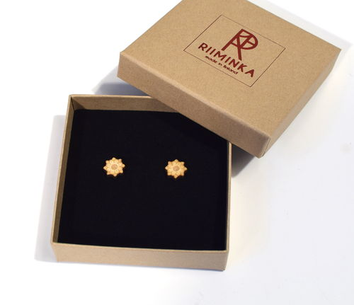 Riiminka Flower Stud Earrings
