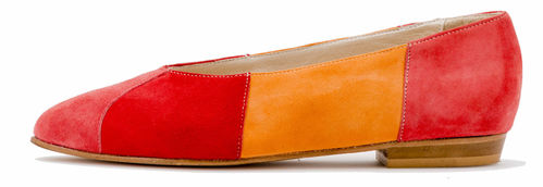 Palmroth ballerina pumps Aurora red 85075-p785