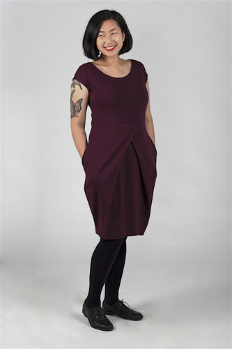Riiminka Puro Dress, plum