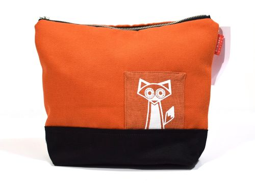 Riiminka Mukana makeup bag, orange