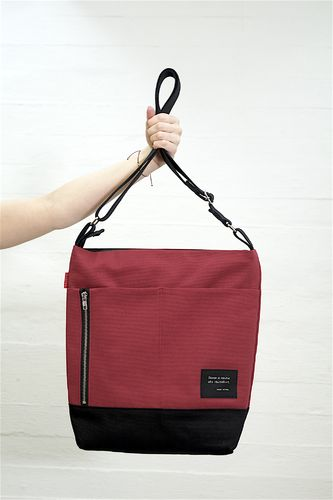 Riiminka Big Story bag cranberry