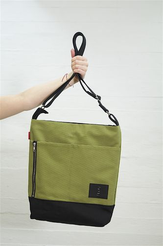 Riiminka Big Story bag olive green