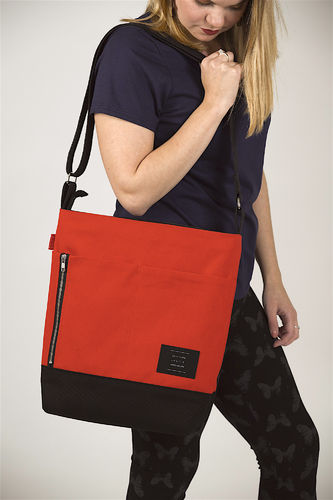 Riiminka Big Story bag orange