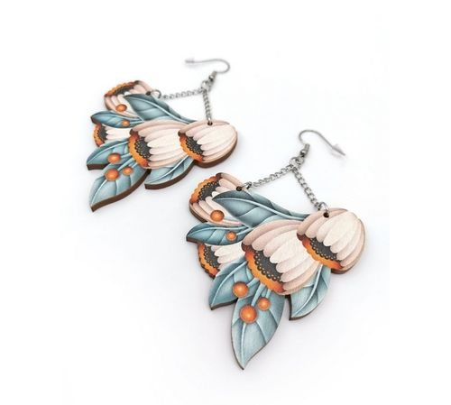 Kieto Kuunkajo Earrings