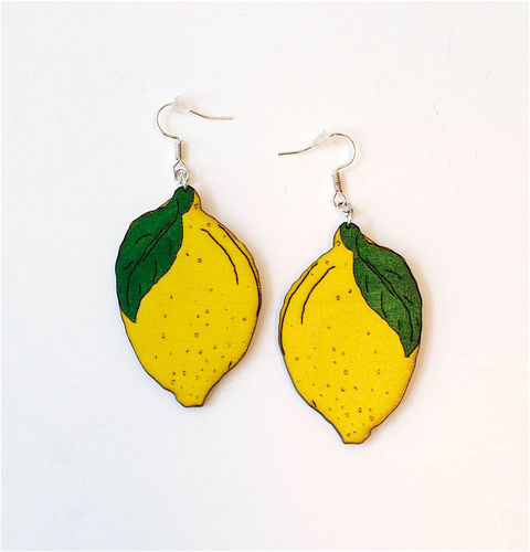 Aleksiina Lemon Earrings