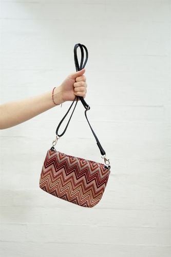 Aleksiina Small ZikZak Shoulder Bag Unique 1