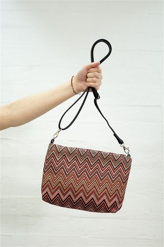 Aleksiina Big ZikZak Shoulder Bag Unique